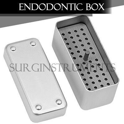 Endodontic Box Surgical Dentist Dental Instruments