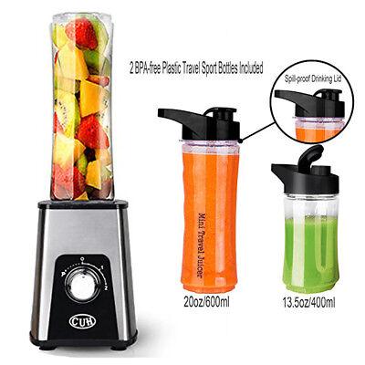Stirring Juice Juicer Blender Kitchen Sport Bottle Smoothie Maker Drink Fruit