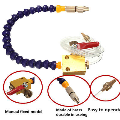 Hot Mist Coolant Lubrication Spray System For 8mm Air Pipe Cnc Lathe Mill Drill