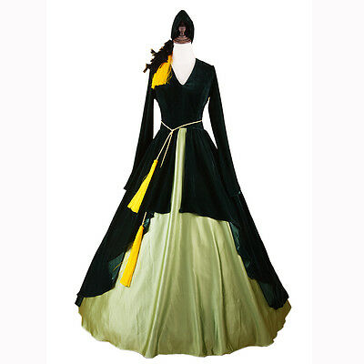 Costume Gone with The Wind Cosplay Southern Ball Gown Dress (Scarlett Ohara Kostüme)