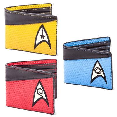 Star Trek Enterprise The Next Generation Crew Uniform Farben Geldbeutel Wallet ()