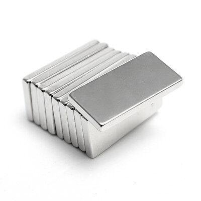 10/20/50/100Pcs Neodymium Block Magnet 20x10x2mm Super Strong Rare Earth Magnets