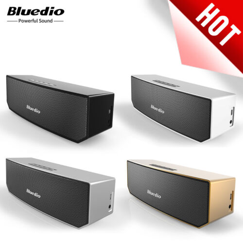 Bluedio BS-3 Bluetooth 4.1 Wireless Stereo Portable Mic 3D Mini Home Speakers