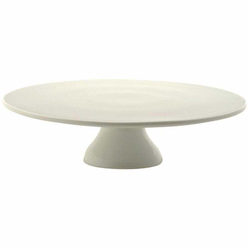 Bia Pedestal Round Cake Stand for Wedding and Party Made of Porcelain - 330mm
