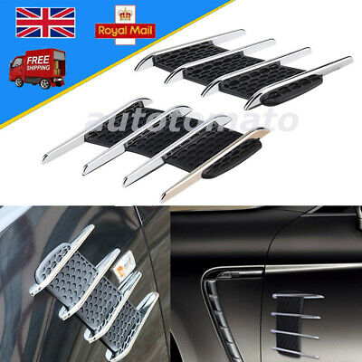 Gift Idea RED Power Vents Bonnet Side Wing fits MERCEDES BV1R