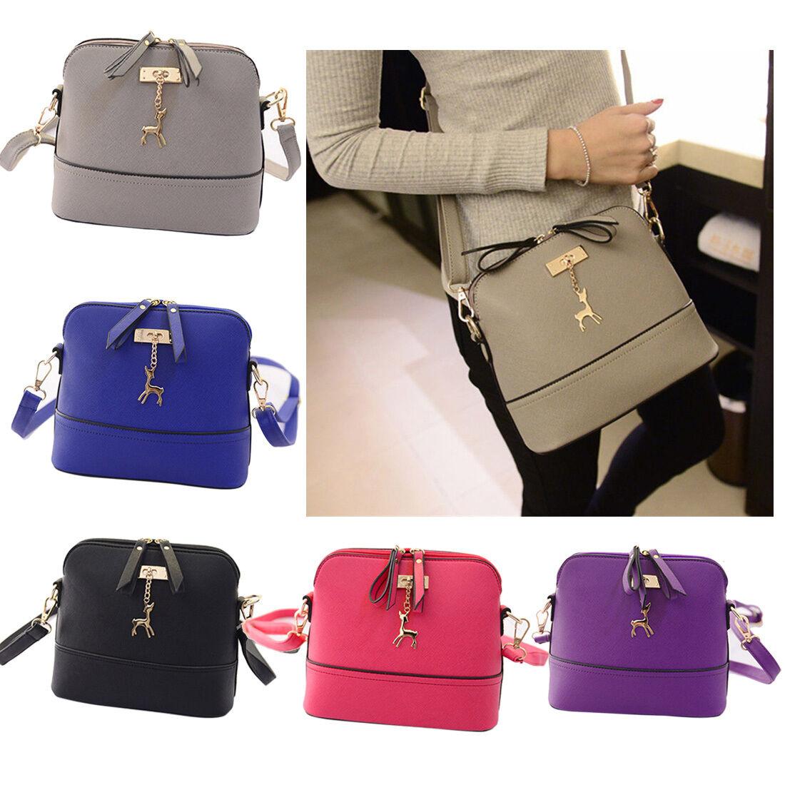 Bag - Women Ladies Leather Shoulder Bag Tote Purse Handbag Messenger Crossbody Satchel