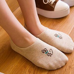 Summer-Womens-Cotton-Loafer-Socks-Crew-Ankle-Socks-Low-Cut-Casual-Dress-Socks