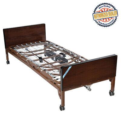 Drive Medical 15033 Delta Ultra Light Full Electric Bed Frame Onlybrown