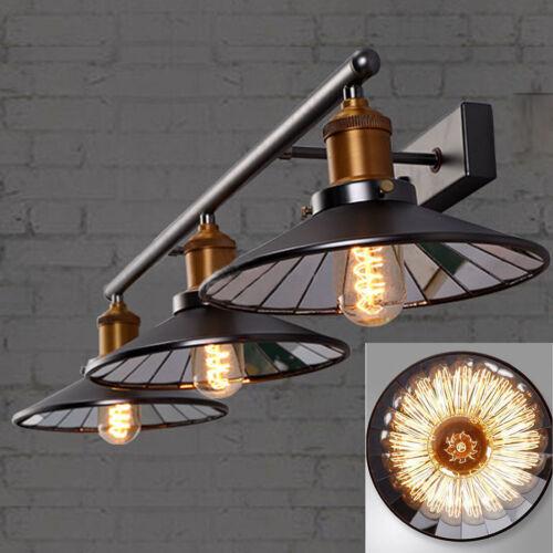 Industrial Vanity LightingVintage Bathroom Mirror LED Wall