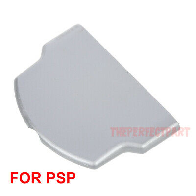 Replacement Battery Back Door Cover Case For Sony PSP 3000 3001 2000 Slim Silver