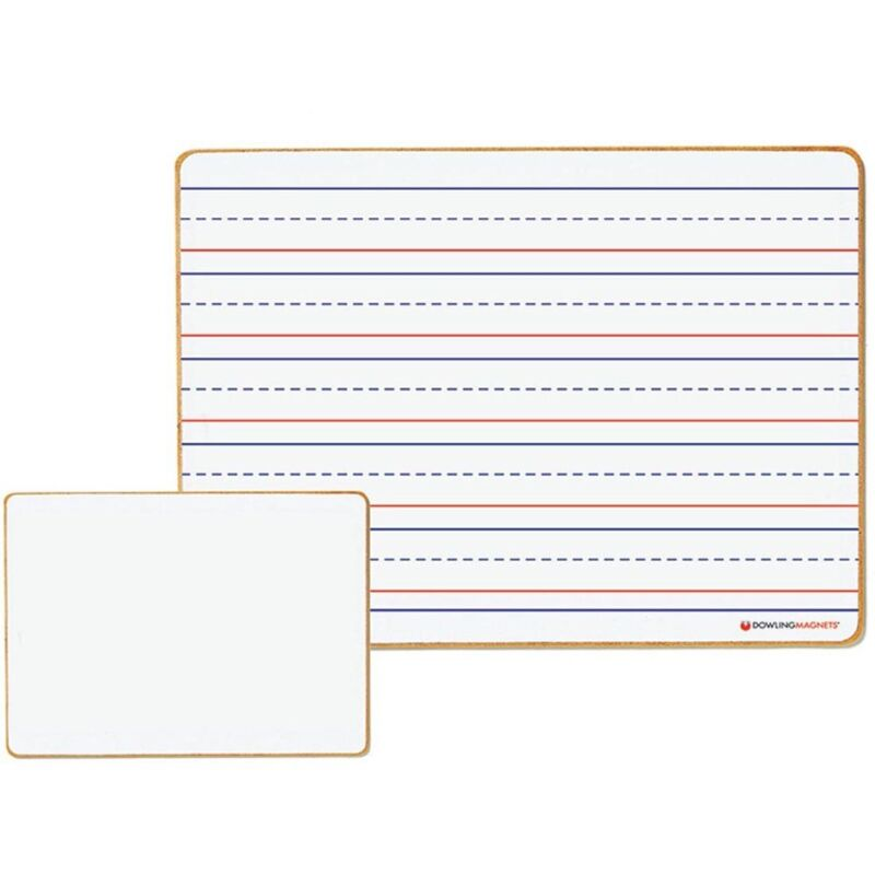 Magnetic Lined/Blank Dry Erase Board by Dowling Magnets