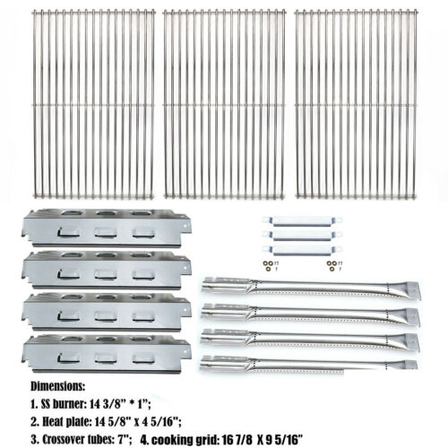 Char Broil 463460710 Replacement Grill Parts Repair Kit Grid