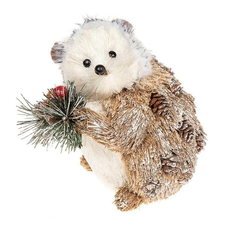 Christmas+Decoration+Country+Hedgehog+Figure