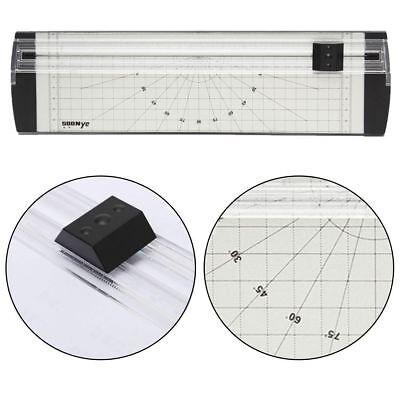 1pc Silver Black A4 Precision Rotary Paper Cutter Trimmer Guillotine Apparatus