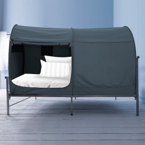 Alvantor Bed Sleeping Portable Tent Canopy Private Space Charcoal Full size