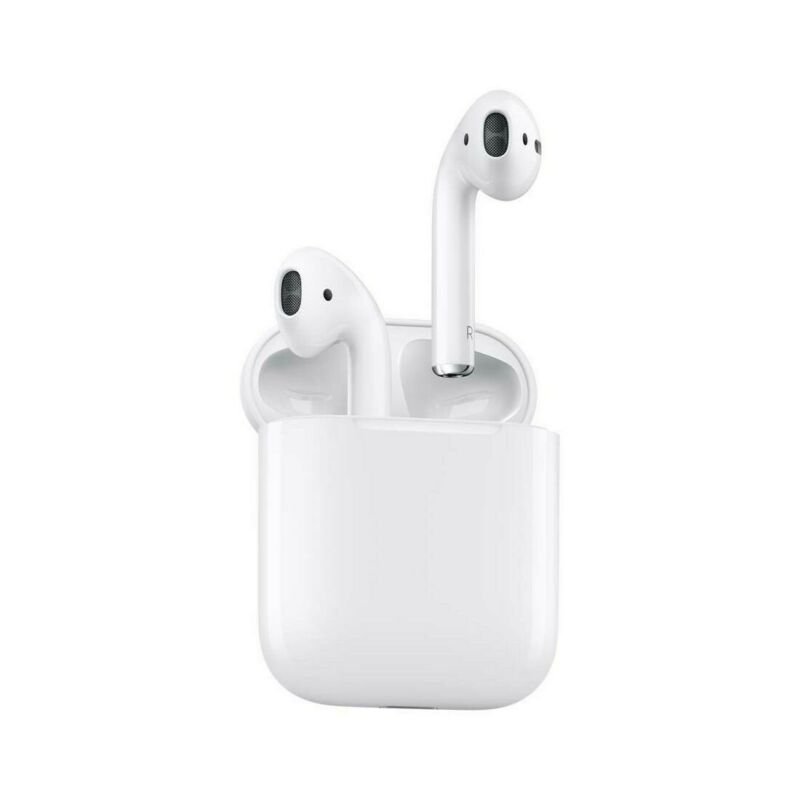 ORIGINAL Brand New Wireless Apple AirPods 2nd Generation with Charging Case