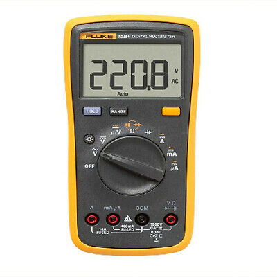 Fluke 15b Digital Multimeter F15b Auto Range Ac Dc Voltage Manual With Tl75