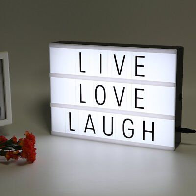 LitEnergy Light Up Your Life A4 Size Cinematic Light Box wit