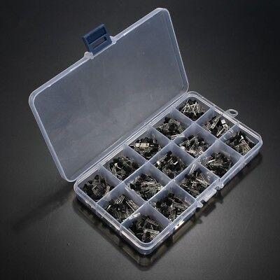 Us Ship 600pcs 15 Value X 40 Pcs Transistor To-92 Assortment Box Kit