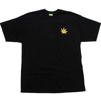 $36.00 Huf Plantlife Tee (black) 00038BLK