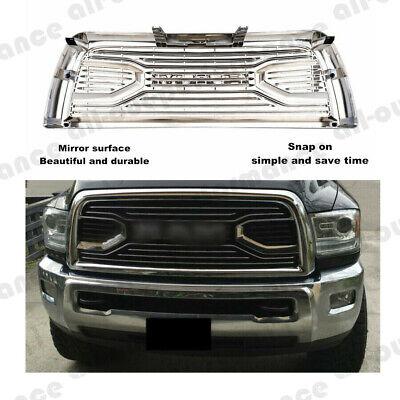 For 2013-2018 Dodge Ram 2500/3500 Chrome Big Horn Front Hood Bumper Grill Grille