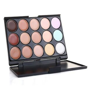 palette de maquillage professionnel salon correcteur contours cr me visage ebay. Black Bedroom Furniture Sets. Home Design Ideas