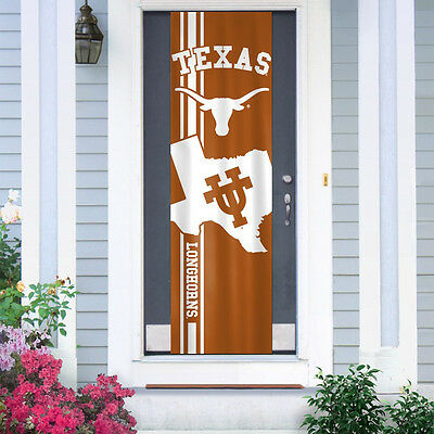 Ncaa Door Flag - Texas Longhorns Door Banner 84