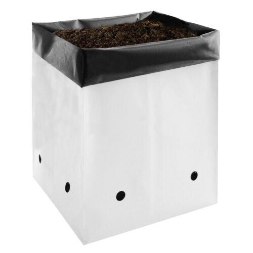 VIVOSUN 1/ 2/ 3/ 5 Gallon Plastic Grow Bags Poly Plant Pots