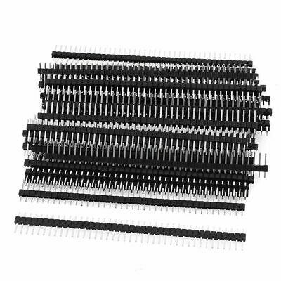 20 Pack 1x40 2.54mm Straight Single Row Breakaway Male Header Pin For Arduino