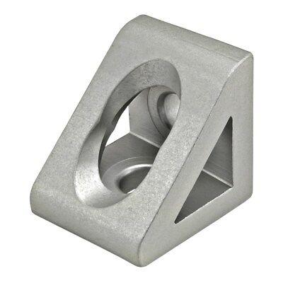 8020 Inc T-slot Aluminum 2 Hole Gusseted Bracket 30 Series 30-4332 N