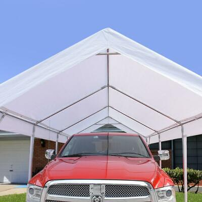 Heavy Duty Carport Garage Outdoor Garden Canopy Car Shelter
