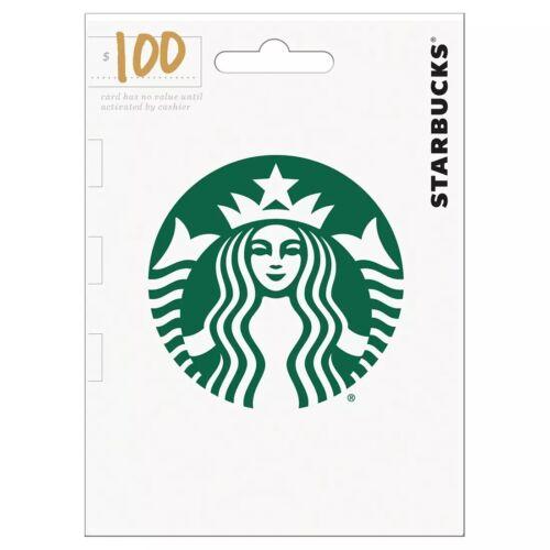 Starbucks Gift Card 100 - $89.99
