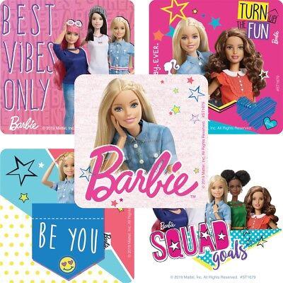 25  Barbie  Dream house adventure Stickers Party Favors Teacher Supply Mattel](Barbie Stickers)