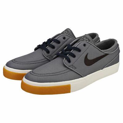 the latest ce3d2 160ac Nike Zoom Stefan Janoski Size 5.5 Canvas 615957-025 Grey White Men Skate  Shoes