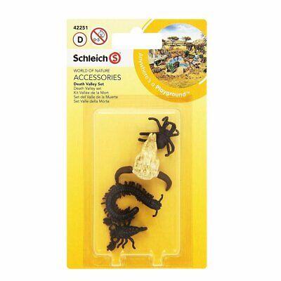 Schleich 42251 Nature Death Valley Set Zubehör Spielset 4 tlg. Spinne Skorpion