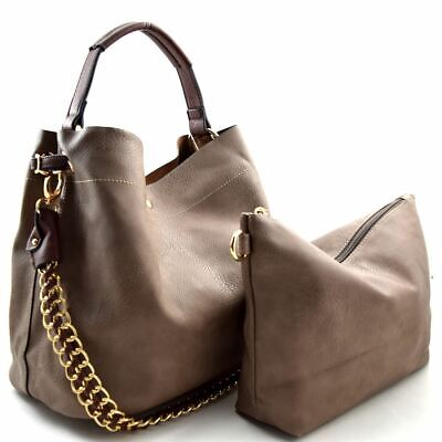 Chain Accent 2 in 1 Hobo