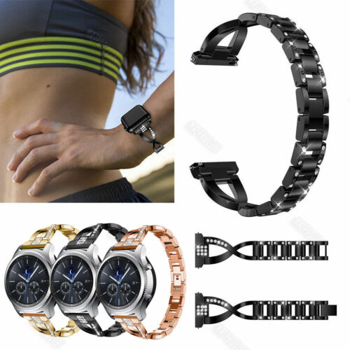 Bling Metal Wrist Band Wristband Watch Strap For Fossil Q ex