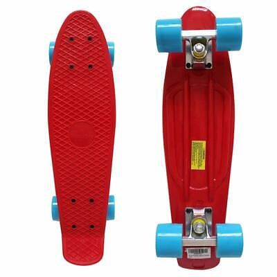 RIMABLE Complete 22 Inches Skateboard RedBlue