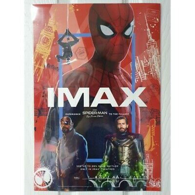 SPIDER-MAN FAR FROM HOME MAVEL Movie Poster 5p+Tube Peter Parker Tom Holland