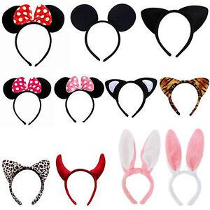 Minnie-Mouse-Ears-Headband-Hen-Nights-Women-Girls-Kids-Mickey-Party-Fancy-Dress