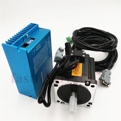 Closed Loop Stepper Motor 4.5nm Nema34 Driver Kit Controller For Cnc Engraver