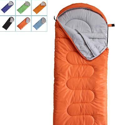 Sleeping Bags Camping & Hiking Windtour Winter Warm Cotton Outdoor Hiking Camping Sleeping Bag Camp Sleeping Gears Sleeping Bags Utmost In Convenience