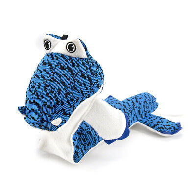 Cute New Hot Plush Blue Crocodile Dog Toy for Aggressive Chewers  best gift