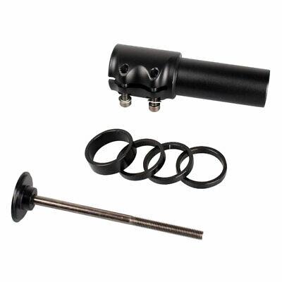 1x 160mm Aluminum Bicycle Stem Adapter Extender Riser 22.2//25.4*28.6mm Adaptor