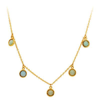 Gorjana Olivia Station Two Tone One Size Necklace 194-102-208-G