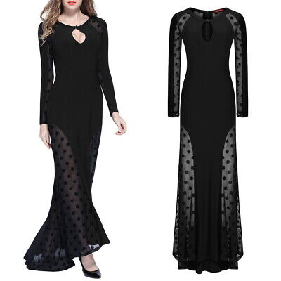 Dot Gown (Women's Sexy Pok-a-dot Party Gown Perfect for Any)