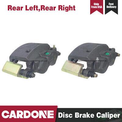 Cardone Rear Left & Right Brake Caliper and Bracket For 2001-2002 Dodge Ram 2500