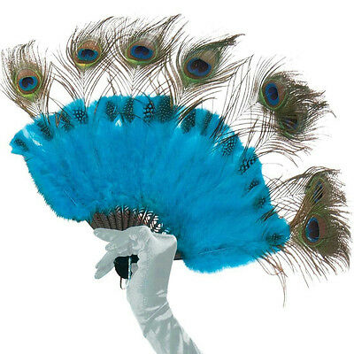 Peacock Feather Costume Tail (Peacock Tail Feather Handheld Fan Costume)