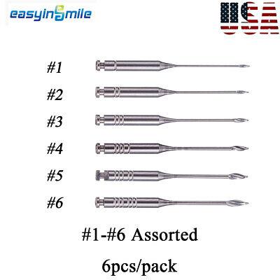 Easyinslile Dental Gates Glidden Drills Endodontic Root Canal 1-6 Size Option