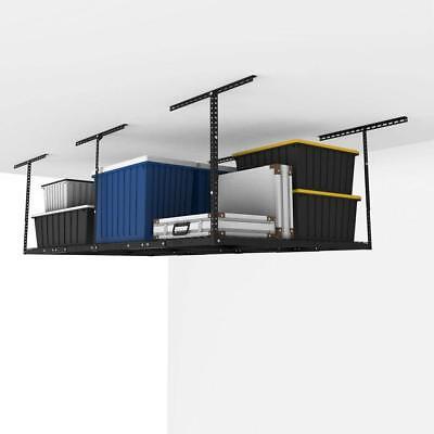 (Overhead Garage Storage Organization Ceiling Rack Adjustable Hanging Shelves )